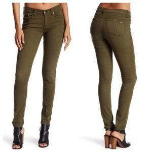 Rag & Bone Women 24 Skinny Stretch Jeans Green